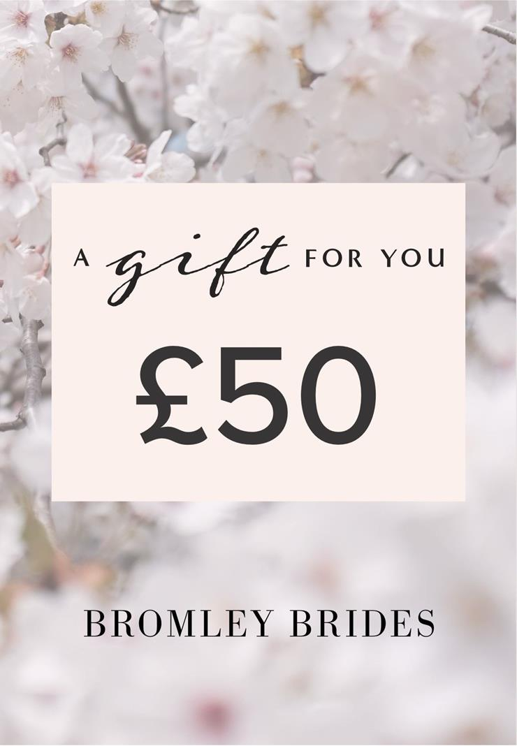 Bromley Brides Gift Cards Style #£50 Holiday Gift Voucher  Image