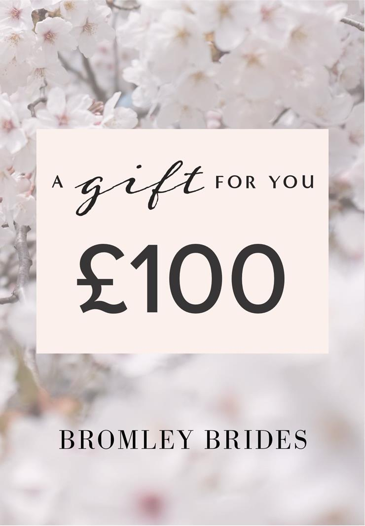 Bromley Brides Gift Cards Style #£100 Holiday Gift Voucher  Image