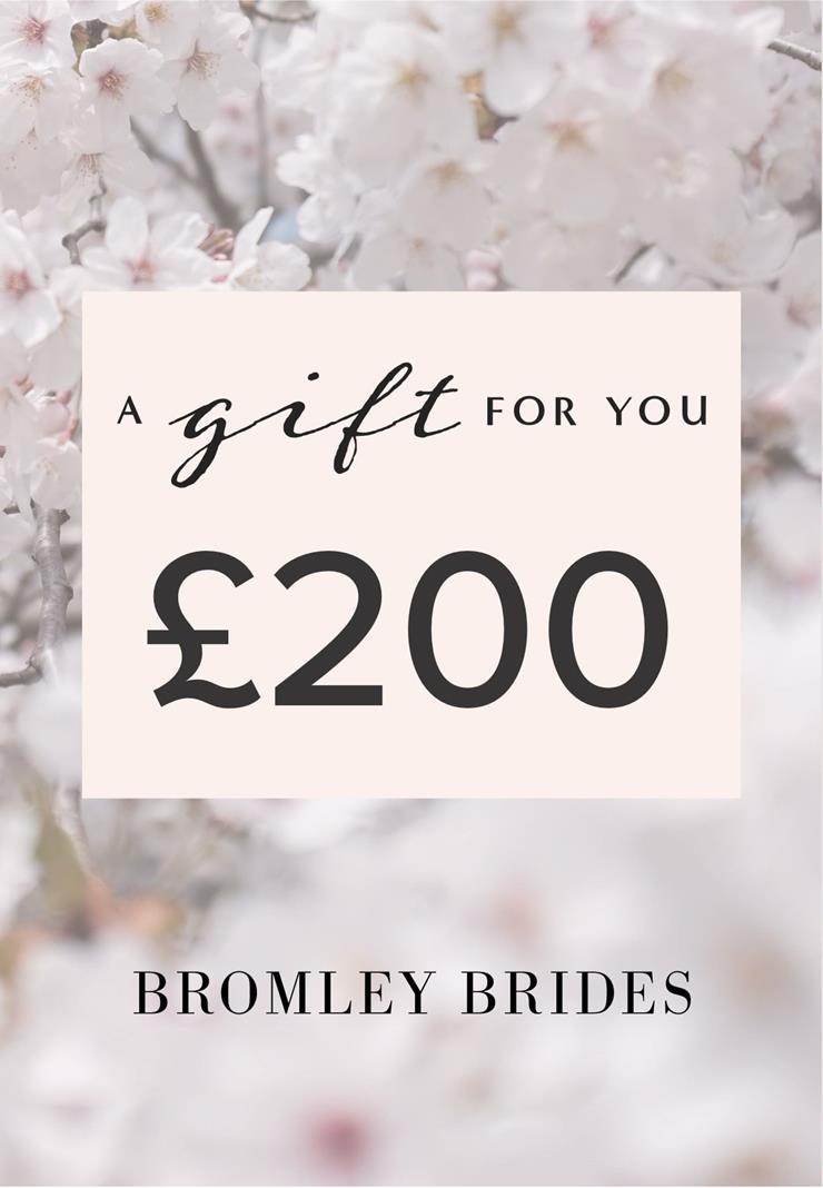 Bromley Brides Gift Cards Style #£200 Holiday Gift Voucher  Image