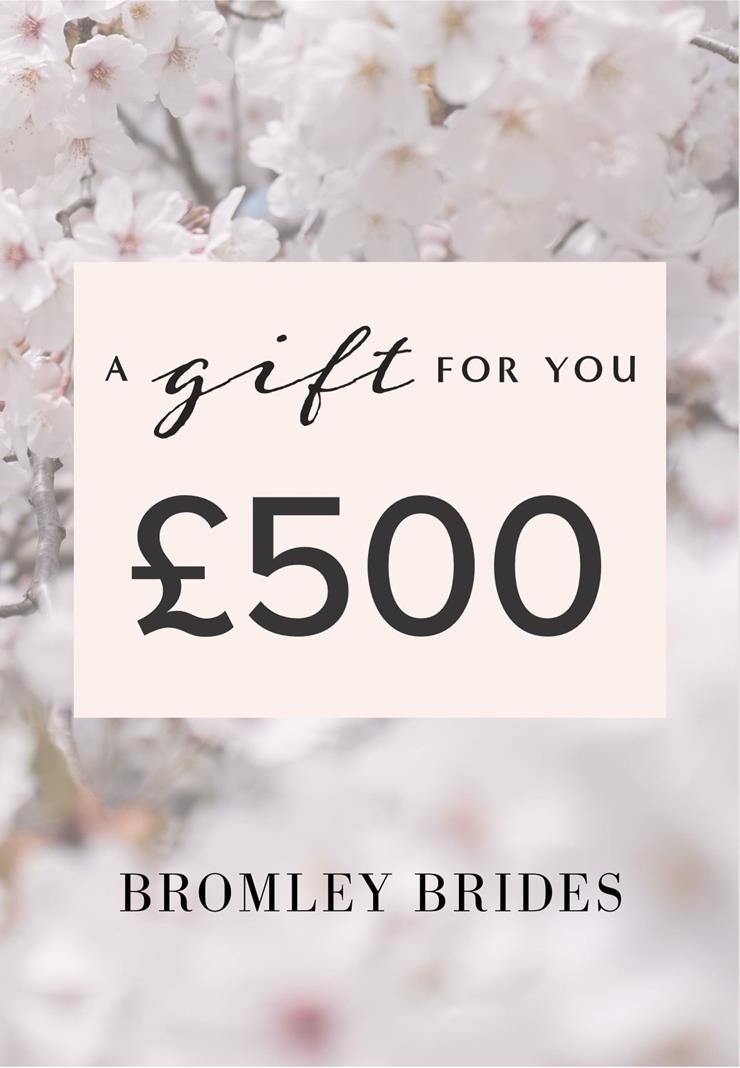 Bromley Brides Gift Cards Style #£500 Holiday Gift Voucher  Image