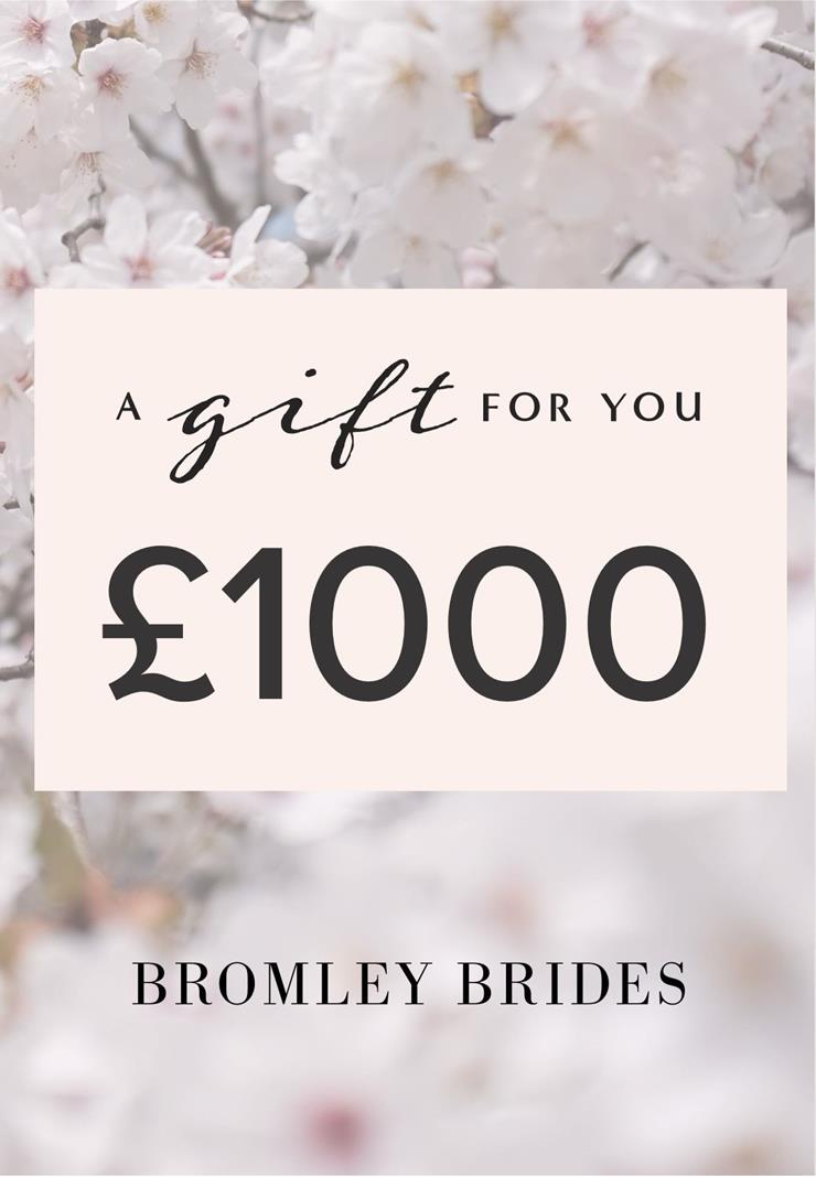 Bromley Brides Gift Cards Style #£1000 Holiday Gift Voucher  Image