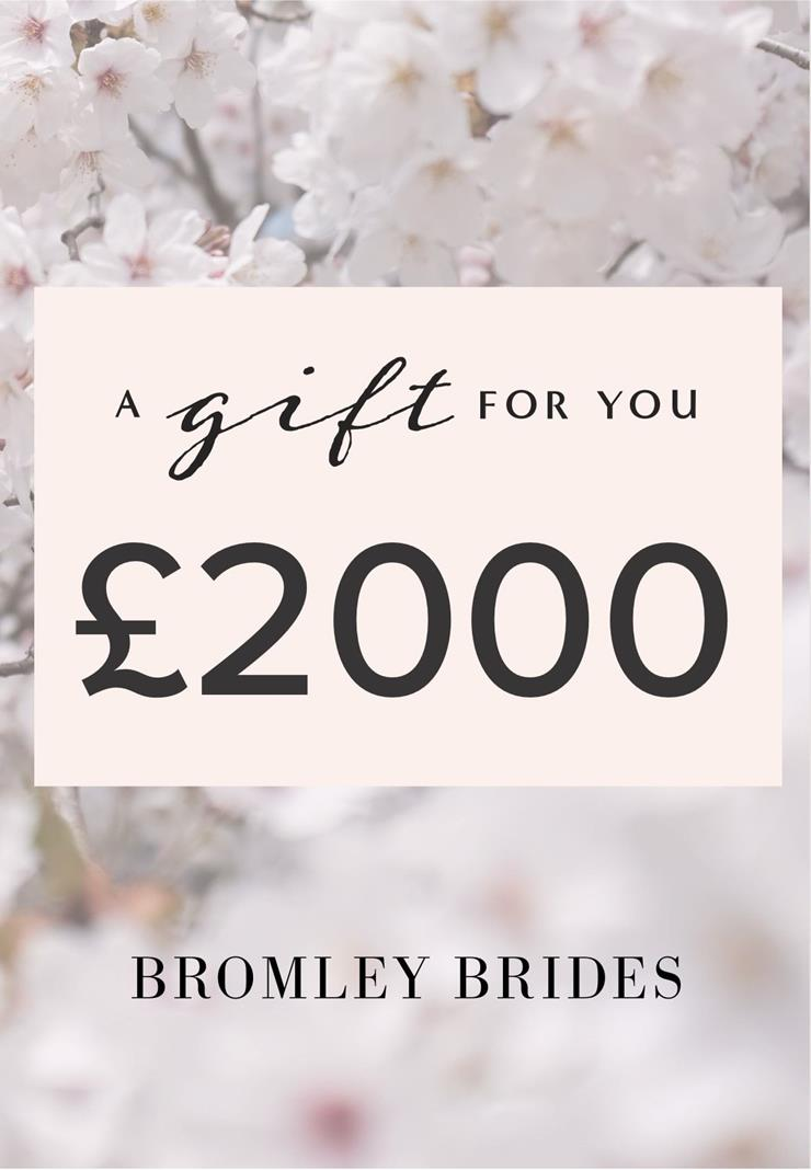 Bromley Brides Gift Cards Style #£2000 Holiday Gift Voucher  Image